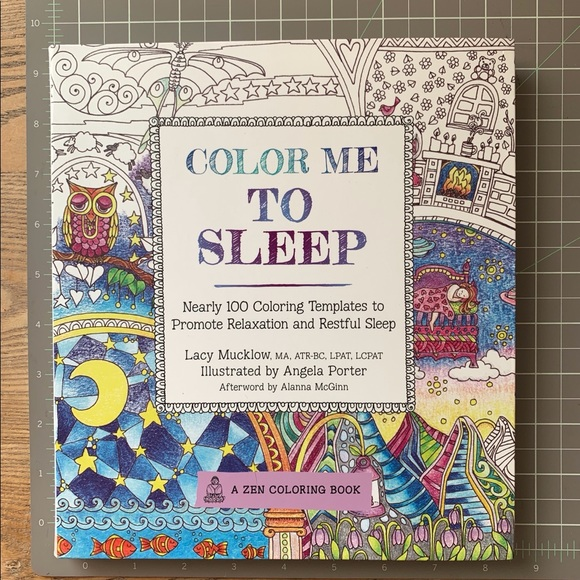 Gorgeous Color Me To Sleep Coloring Book